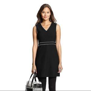 Like new DVF Black LeeLou Shift Dress size 4